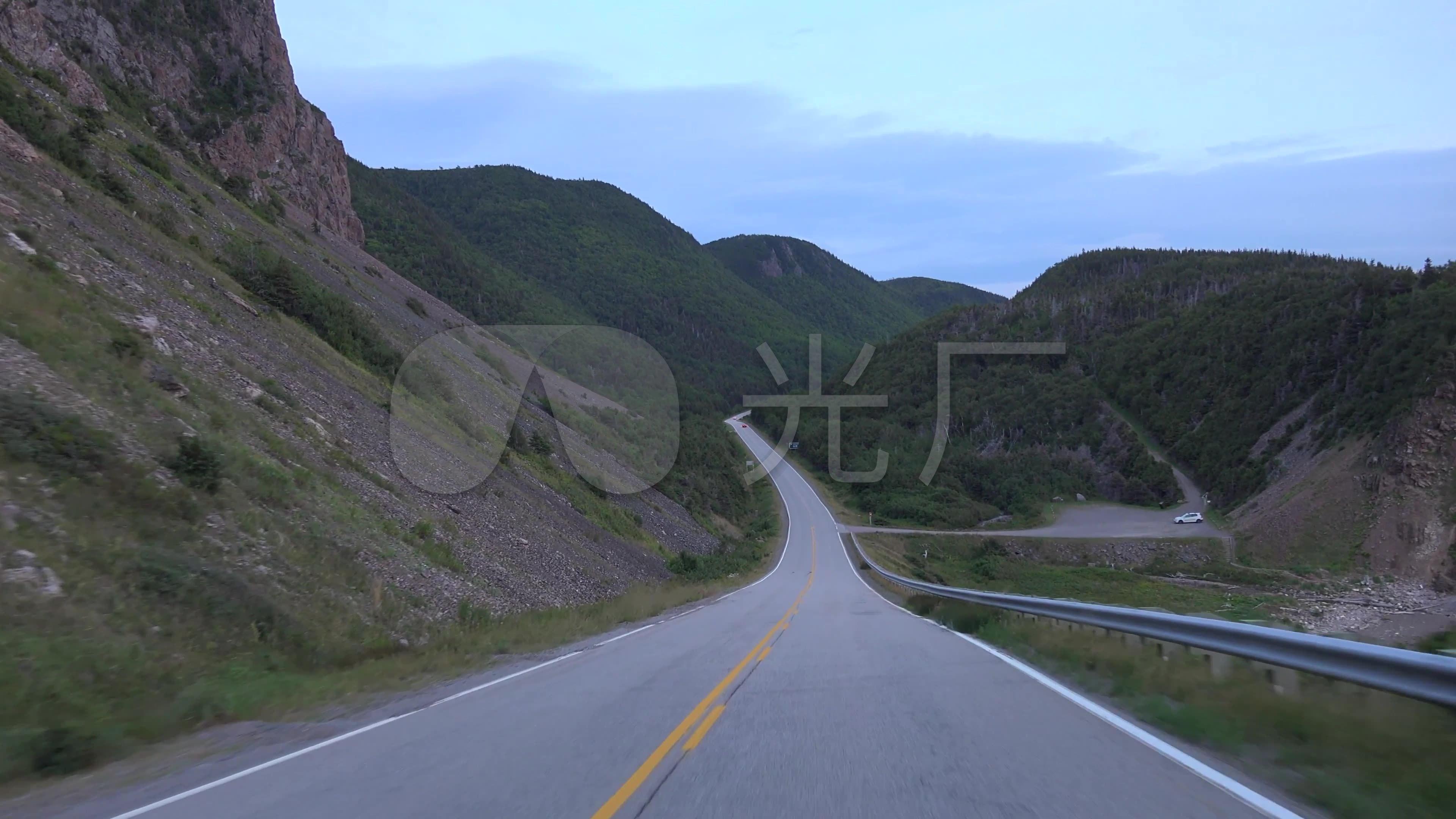 4K海滨风景区视角行驶第一视频_3840X2160_凯声公路源图片
