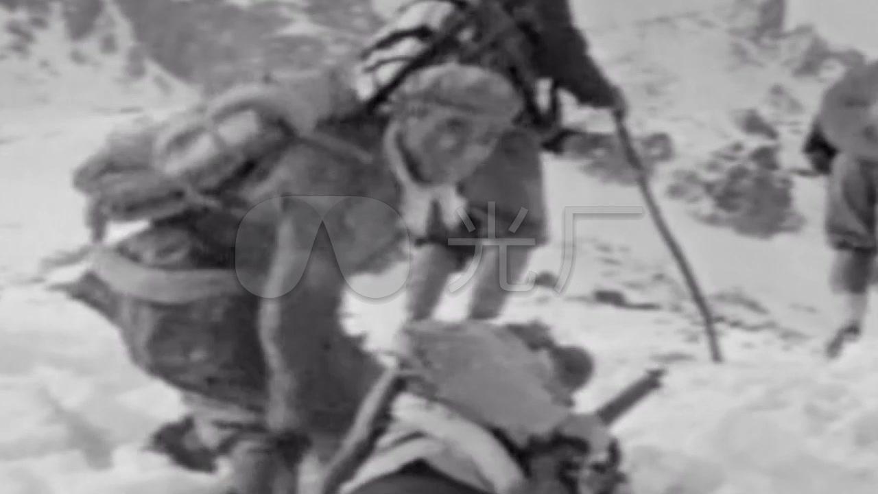 视频过雪山视频红军_1280X720_蹦床素材素材视频v视频高清图片