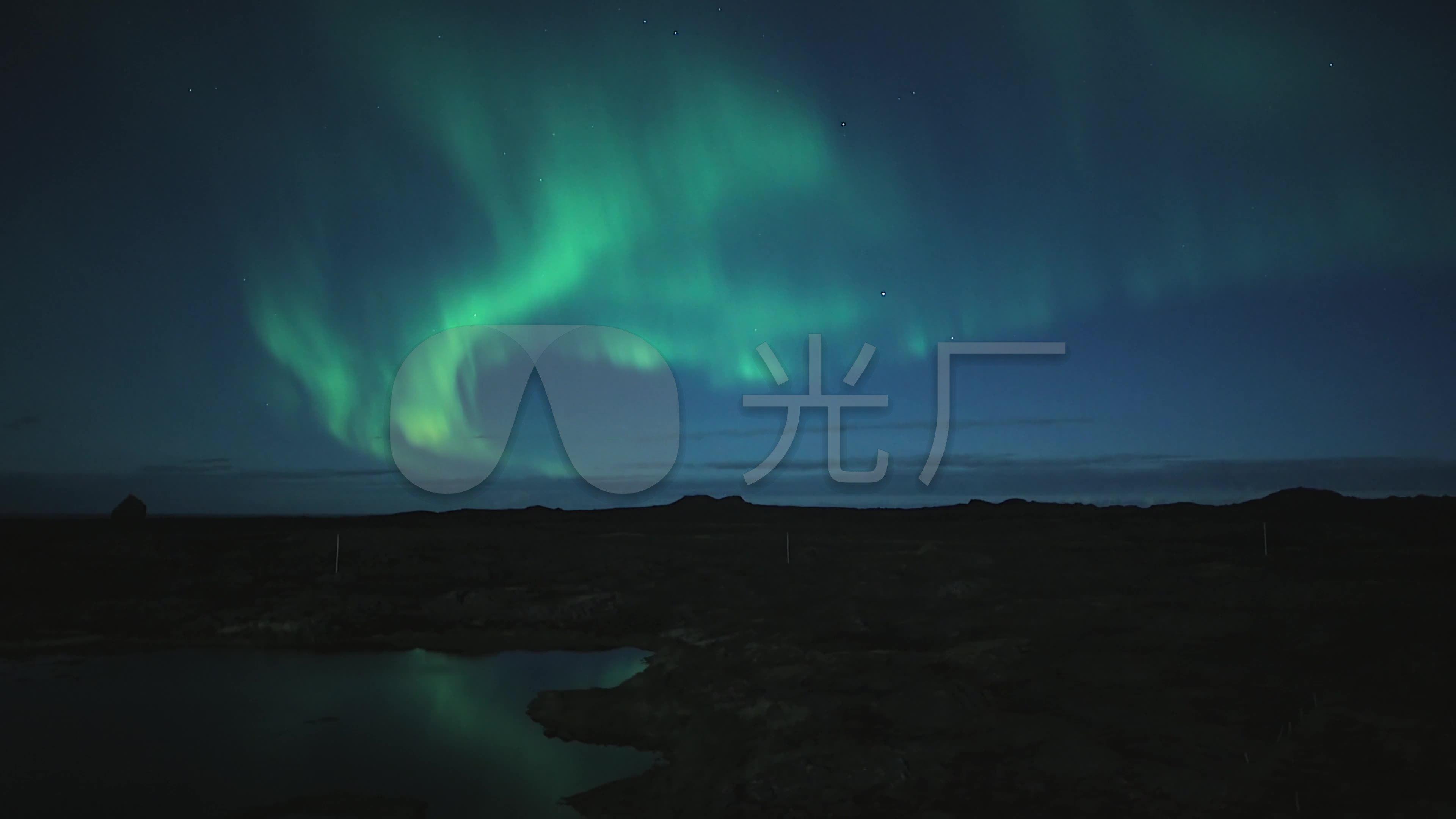 4k穿越史诗冰岛景观_3840x2160_高清视频素材下载