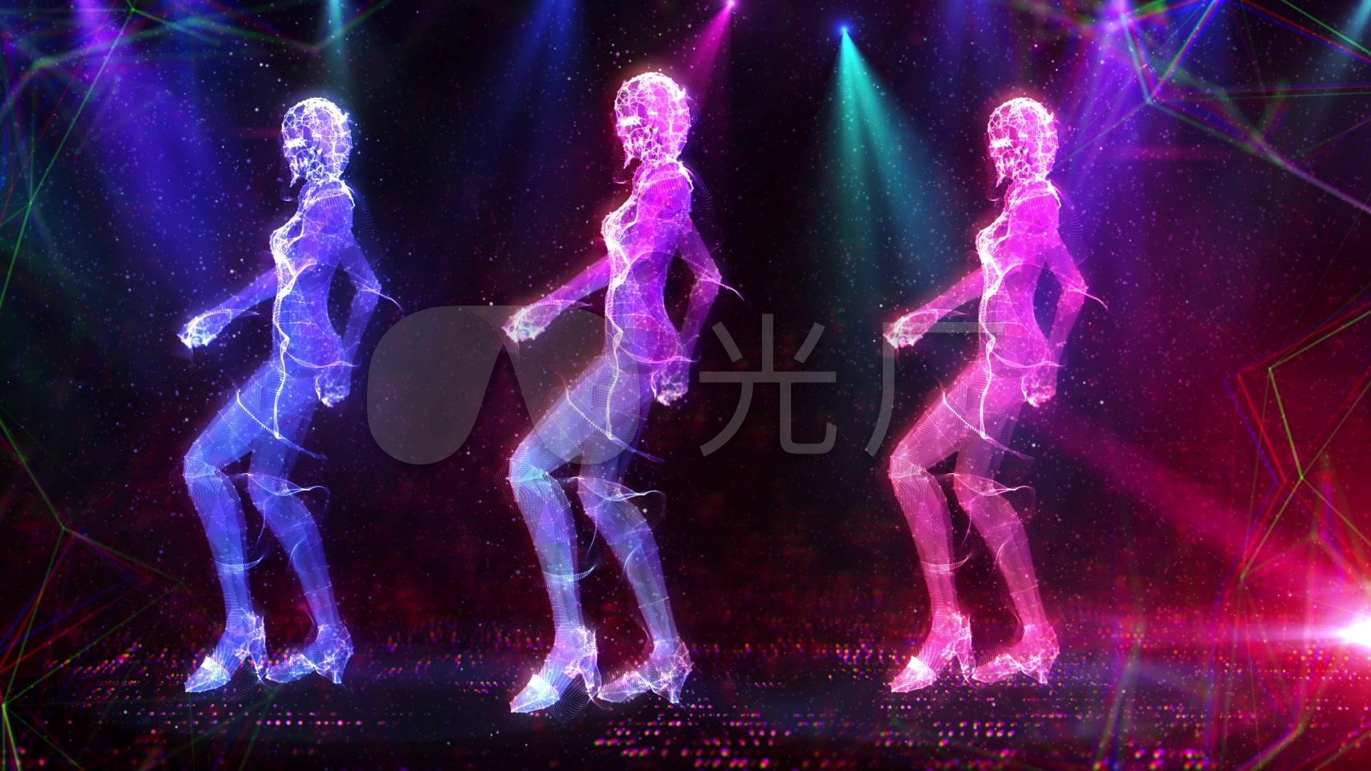 的卡全息女跳舞_1920X1080_性感视频素材下高清通性感可爱图片