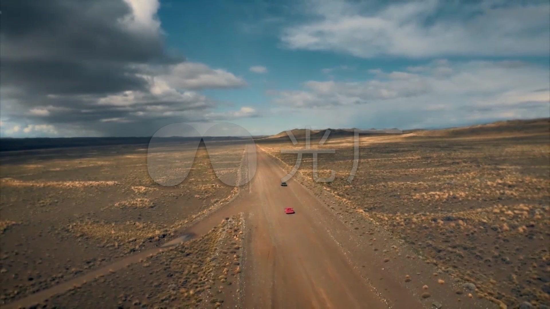 越野戈壁滩公路素材赛车烈焰沙漠_裁决视频_航拍视频跑车图片
