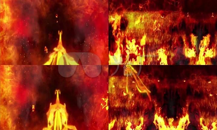 凤凰视频xingai_超清震撼火凤凰浴火重生舞台led背景视频