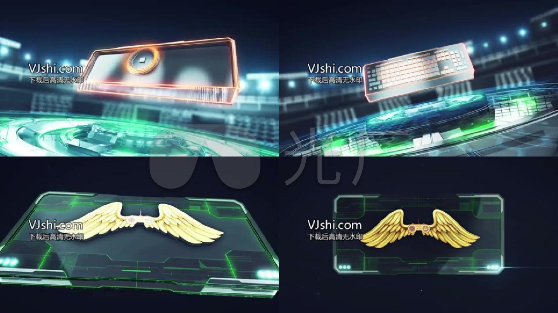高科技游戏竞技综艺选秀类电视栏目节目包装