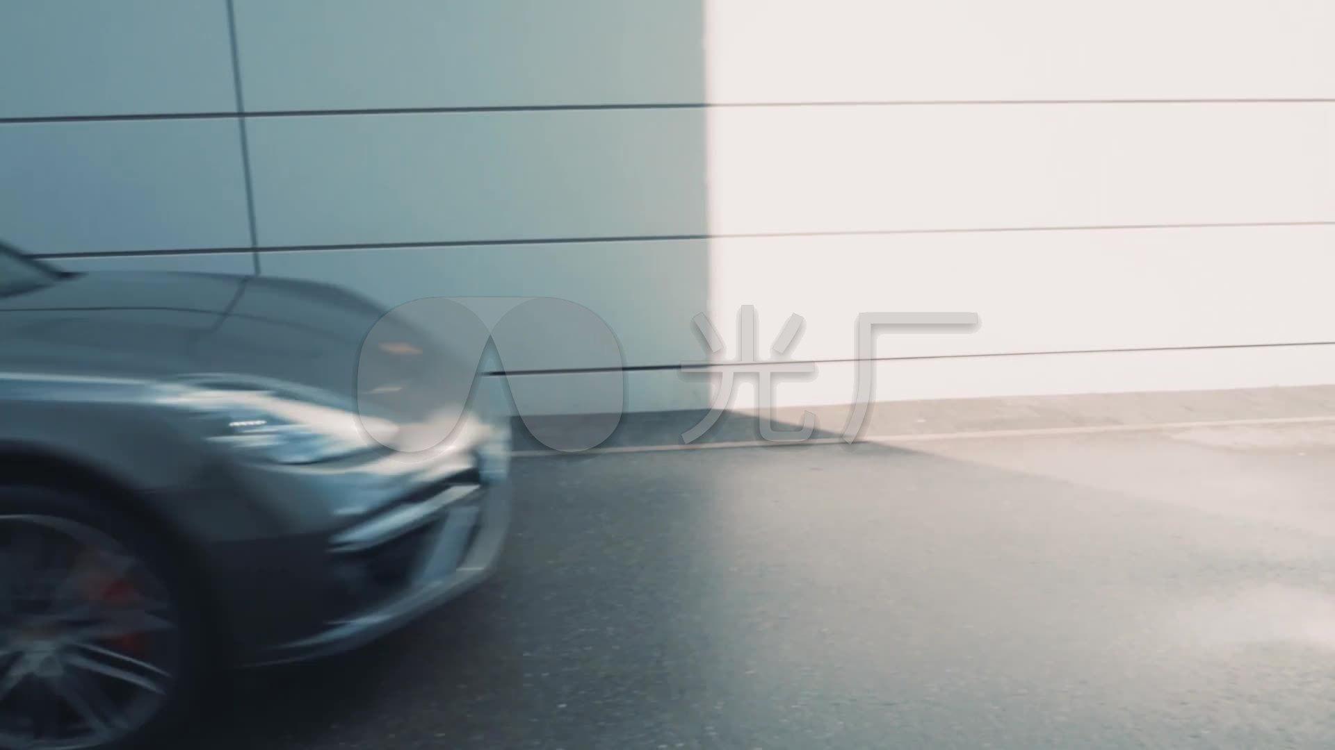 实拍豪车跑车高清_1920X1080_视频年会素材vg视频视频图片