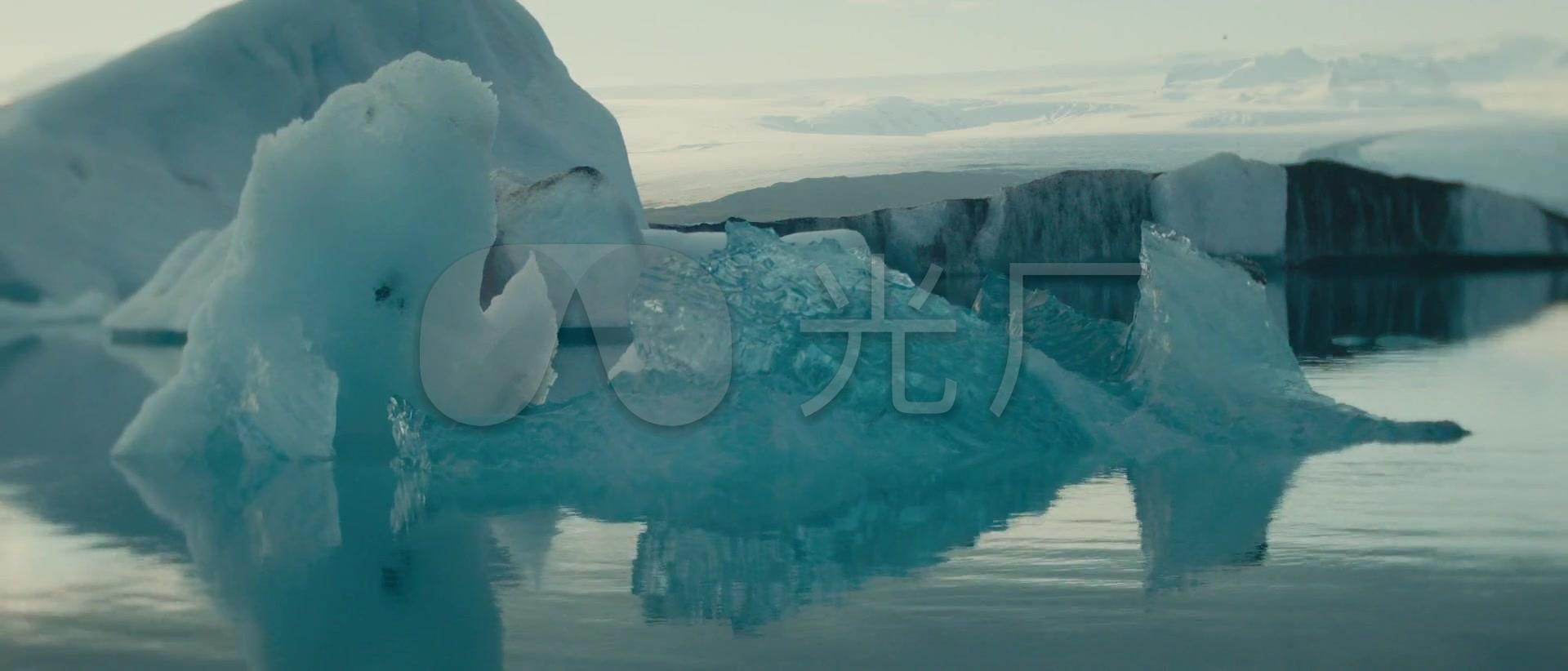 冰岛v草原草原视频冰河瀑布雪原自然风光_192拍凡雪山短图片
