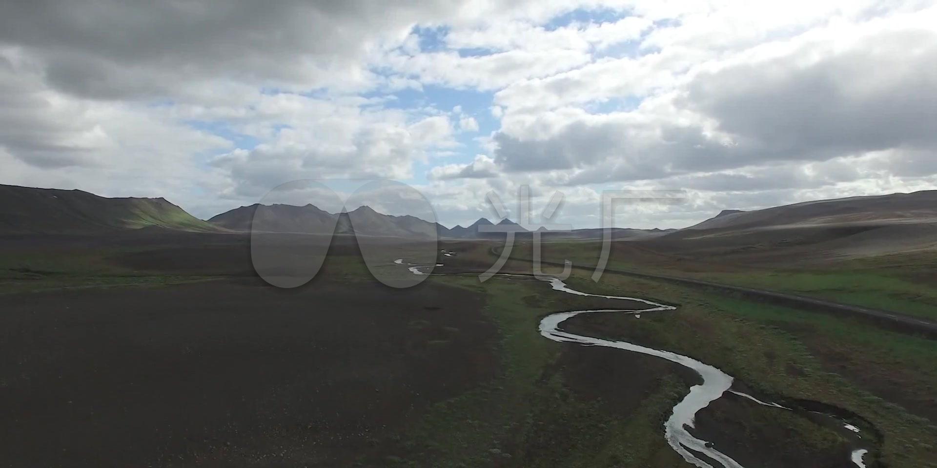 冰岛河流雪地草原视频云层自然风光_1920X9打劫雪山阿狸图片