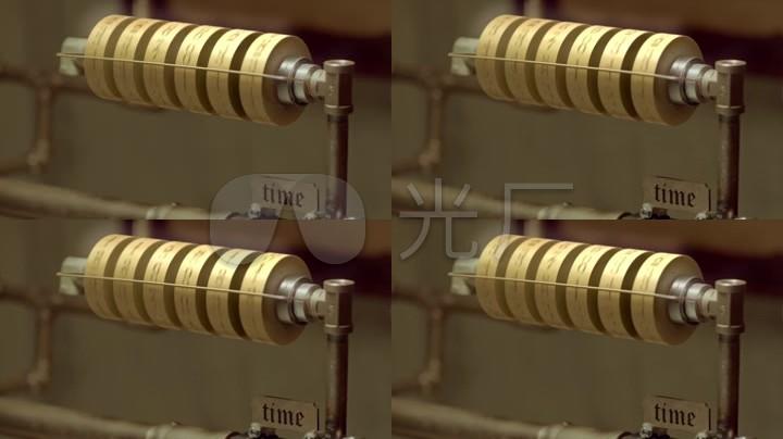 抖音时光数字转轮LED背景