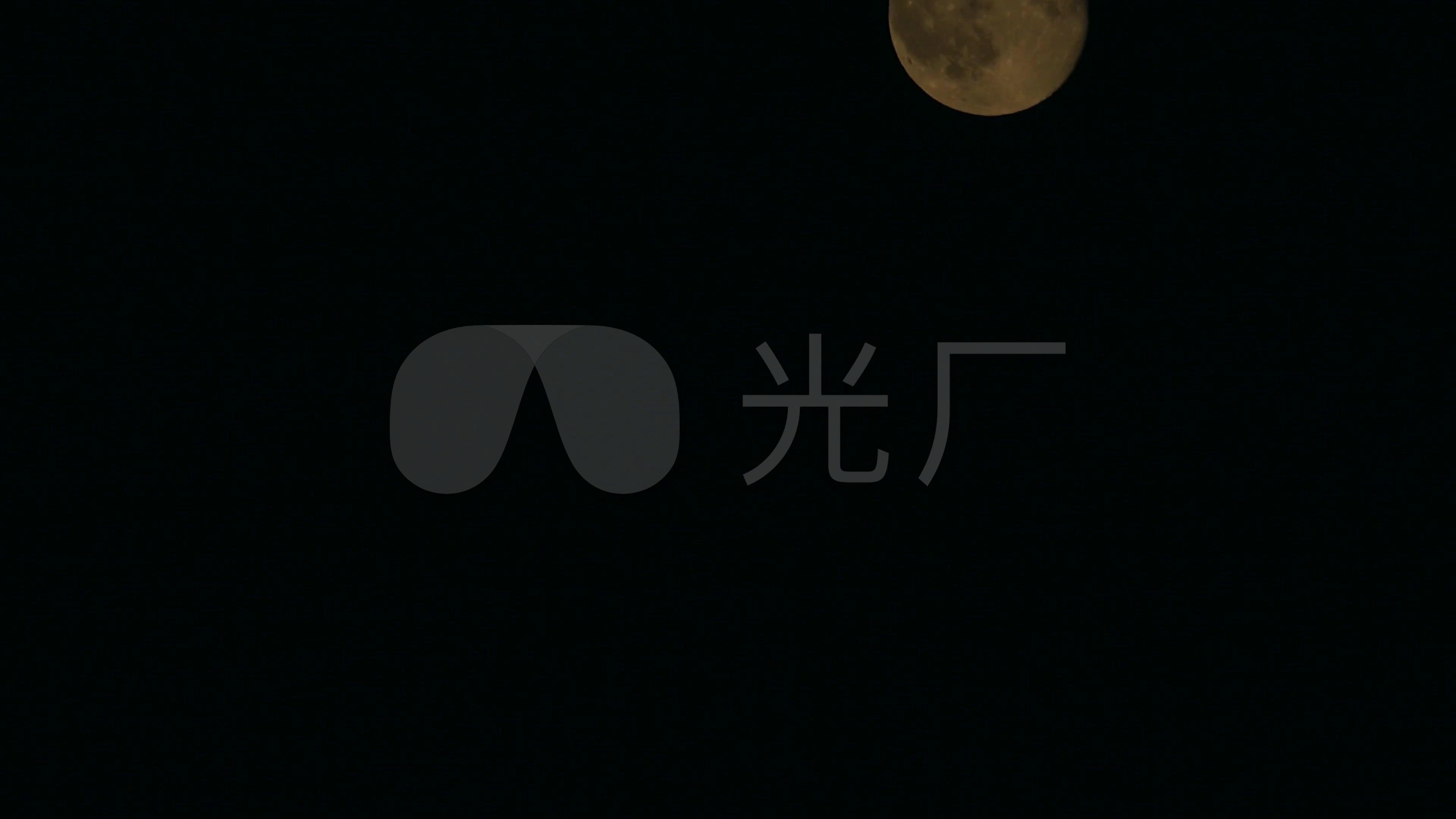 月亮夜晚月圆之夜4k_3840x2160_高清视频素材下载(:)