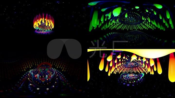 舞台灯光秀动画背景素材