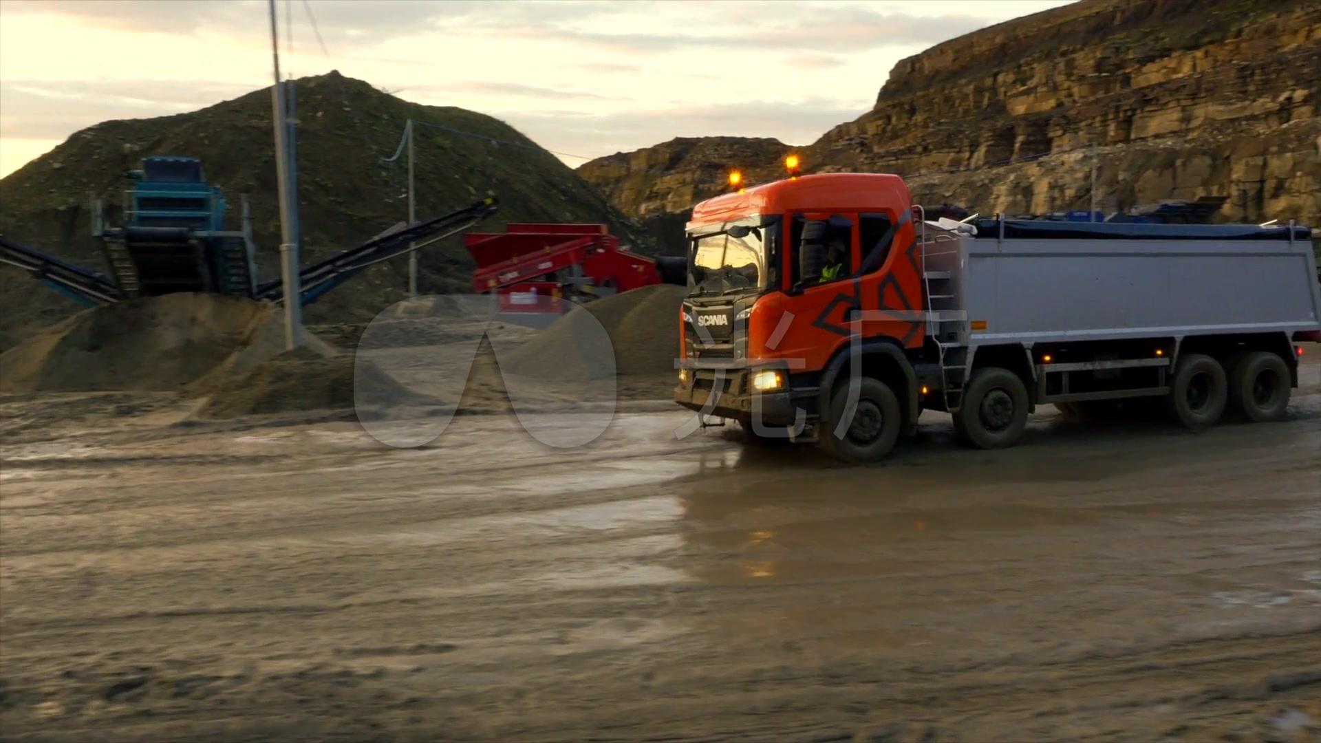 视频现场装土车素材视频_1920X1080_工地视水黄河高清图片
