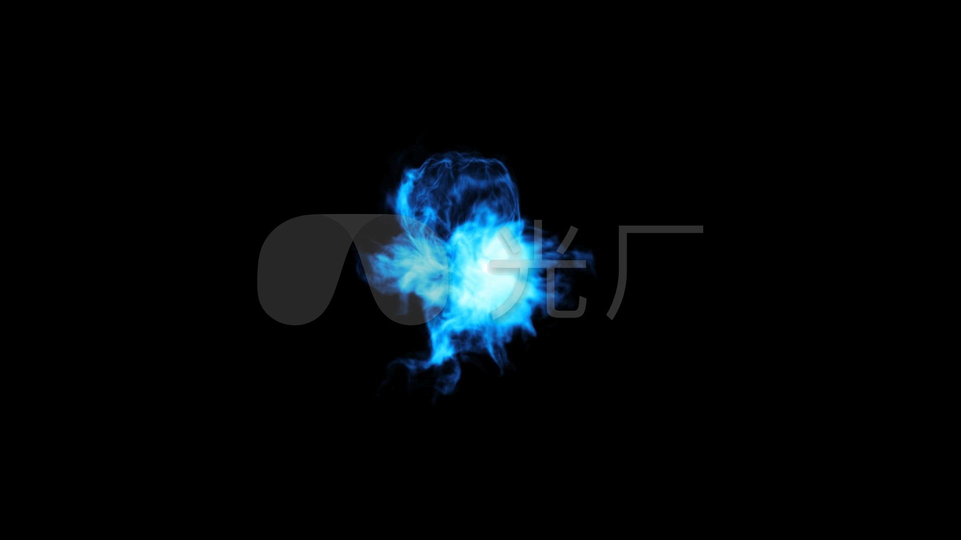 德育素材魔法神秘烟巫师施烟雾_1920X1080_光影魔法视频图片