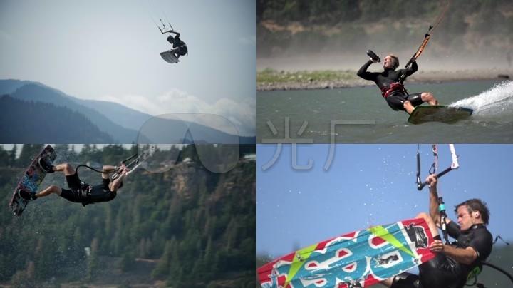 酷炫升格视频摩托艇冲浪v视频_1920X1080_高管滑板擼图片