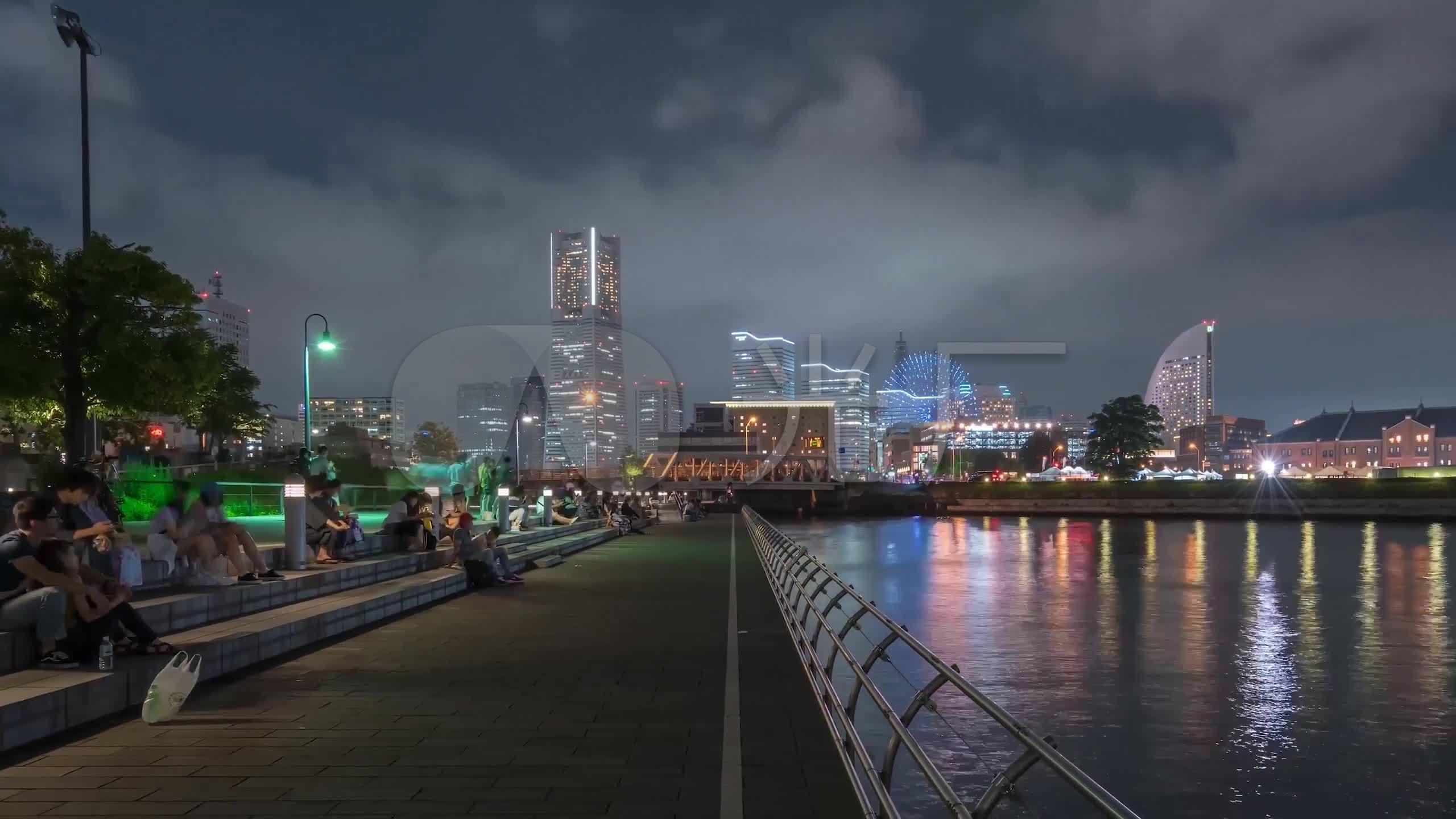 日本东京宣传片_3k日本东京城市延时风光宣传片