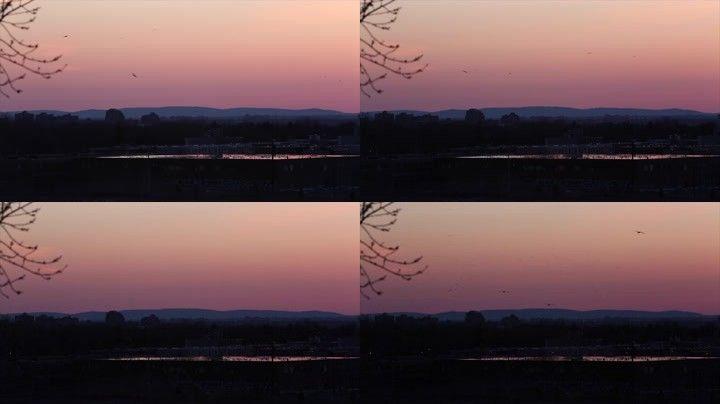 33落日夕阳唯美风景美景夕阳