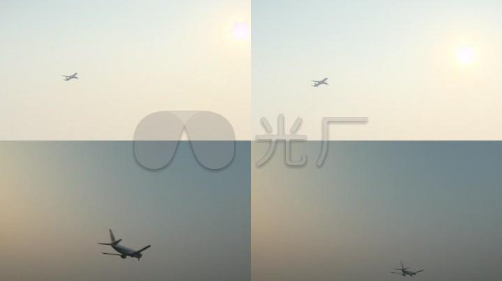 飞机视频、灭弧实拍客机高清_1280X720_民航素材放法有啥图片