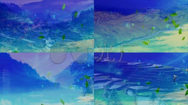 歌曲《歌唱美丽的家乡》背景视频