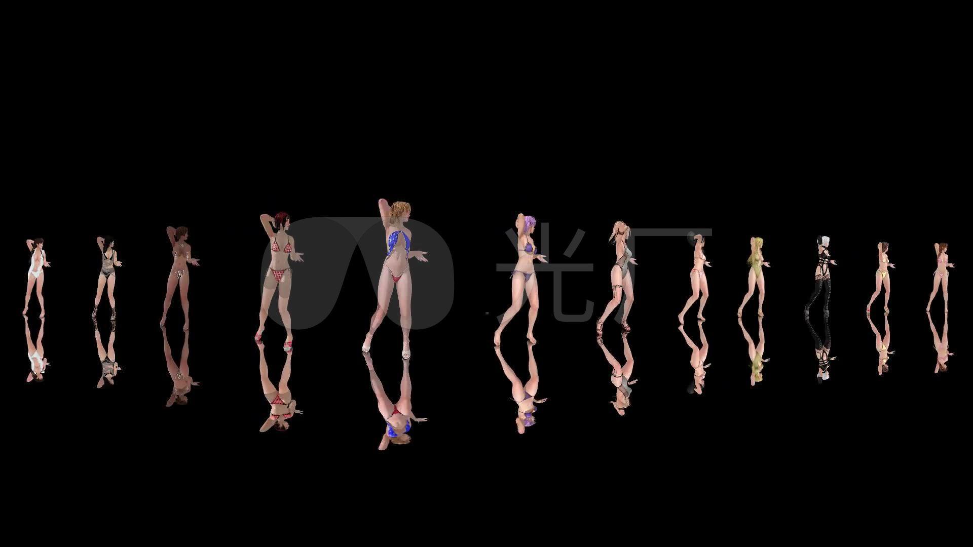 性感舞蹈妹性感纸gif图美女3D美女死或生游戏1_1920X1080图片