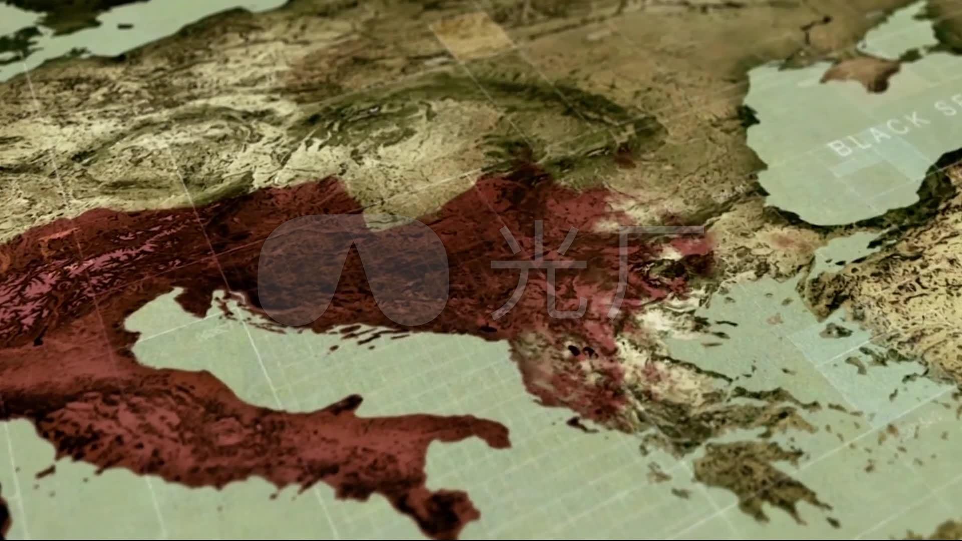 古罗马帝国战争_版图扩张_国土面积地图_192
