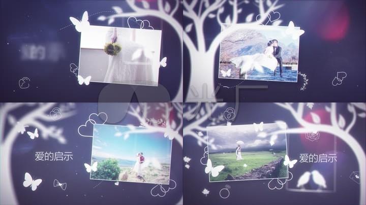 情人节周年纪念浪漫AE模板
