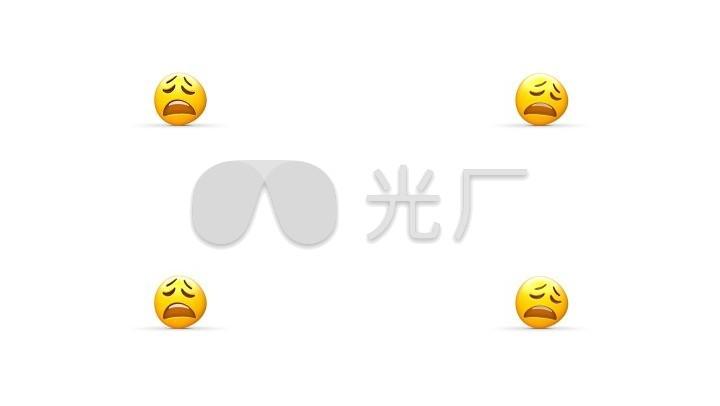 【透明豆腐】Emoji3D通道表情_1920X1080表情先生卡通包图片