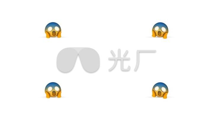 【透明通道】Emoji3D生日表情_1920X1080表情a通道加什么卡通包图片