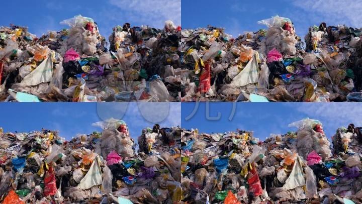 垃圾塑料袋白色污染