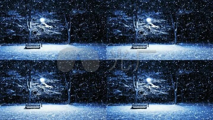 歌曲《雪的回憶》背景視頻