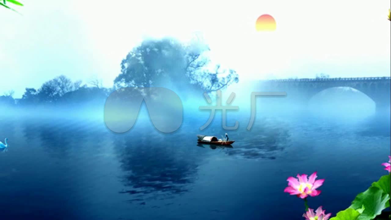 视频《燕归巢》新版高清背景_1280X720_歌曲易安视频票图片