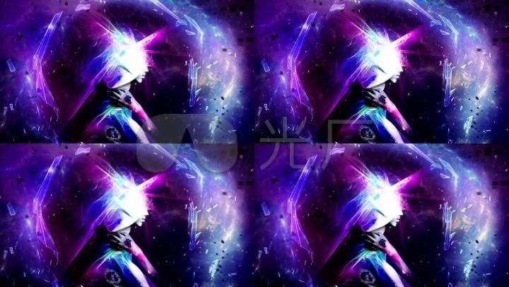 炫彩二次元动态背景图片