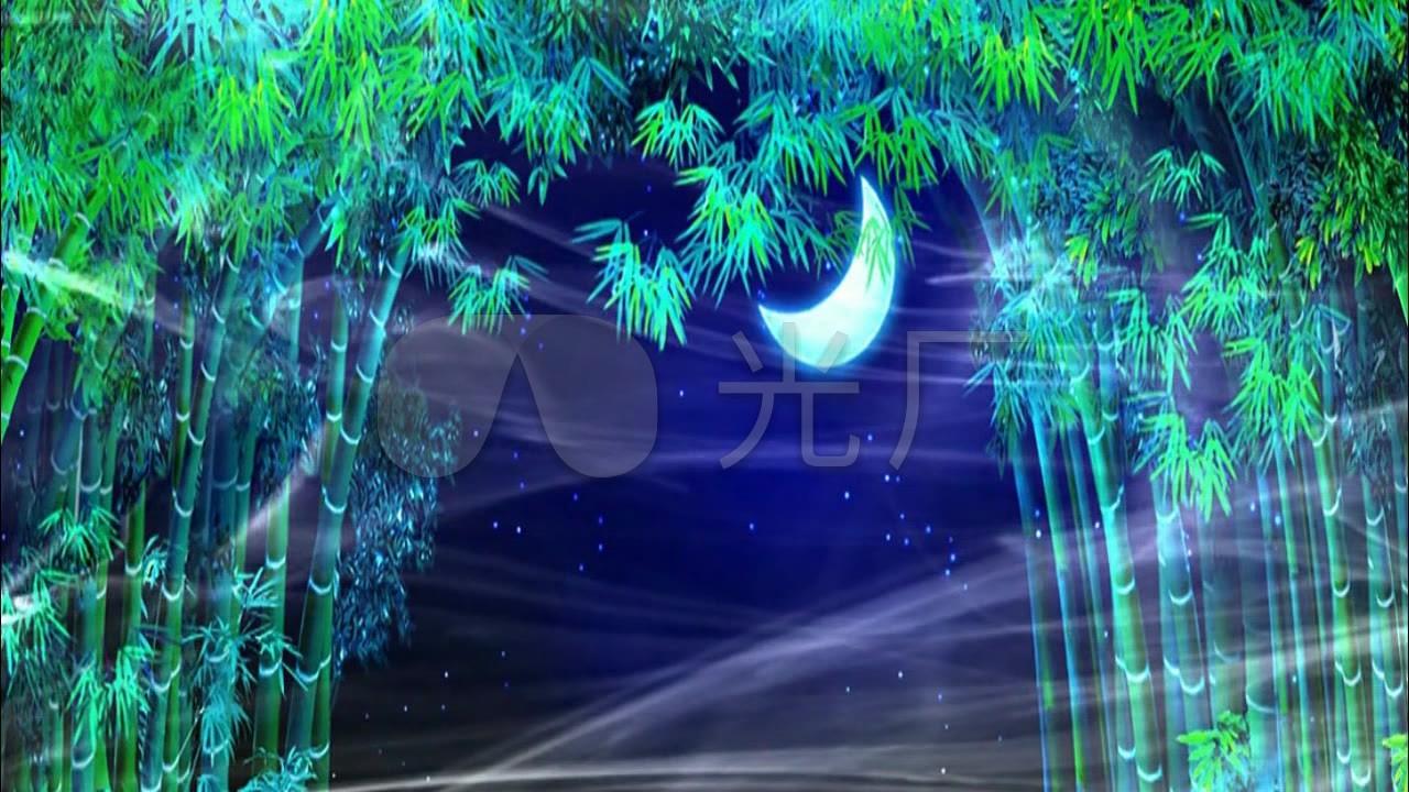 求歌詞:月光下的鳳尾竹