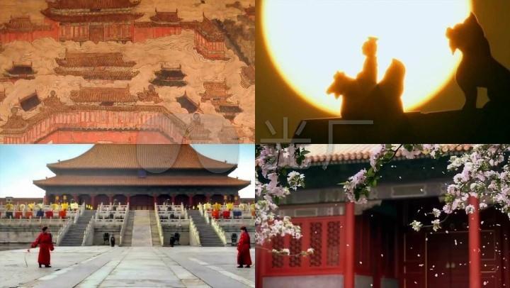 大明宫中国故宫古代建筑皇宫素材