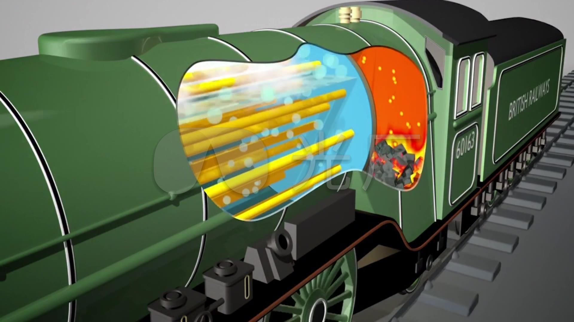 老式衣柜锅炉蒸汽行驶_蒸汽机火车图纸_铁_1列车原理设计师图片