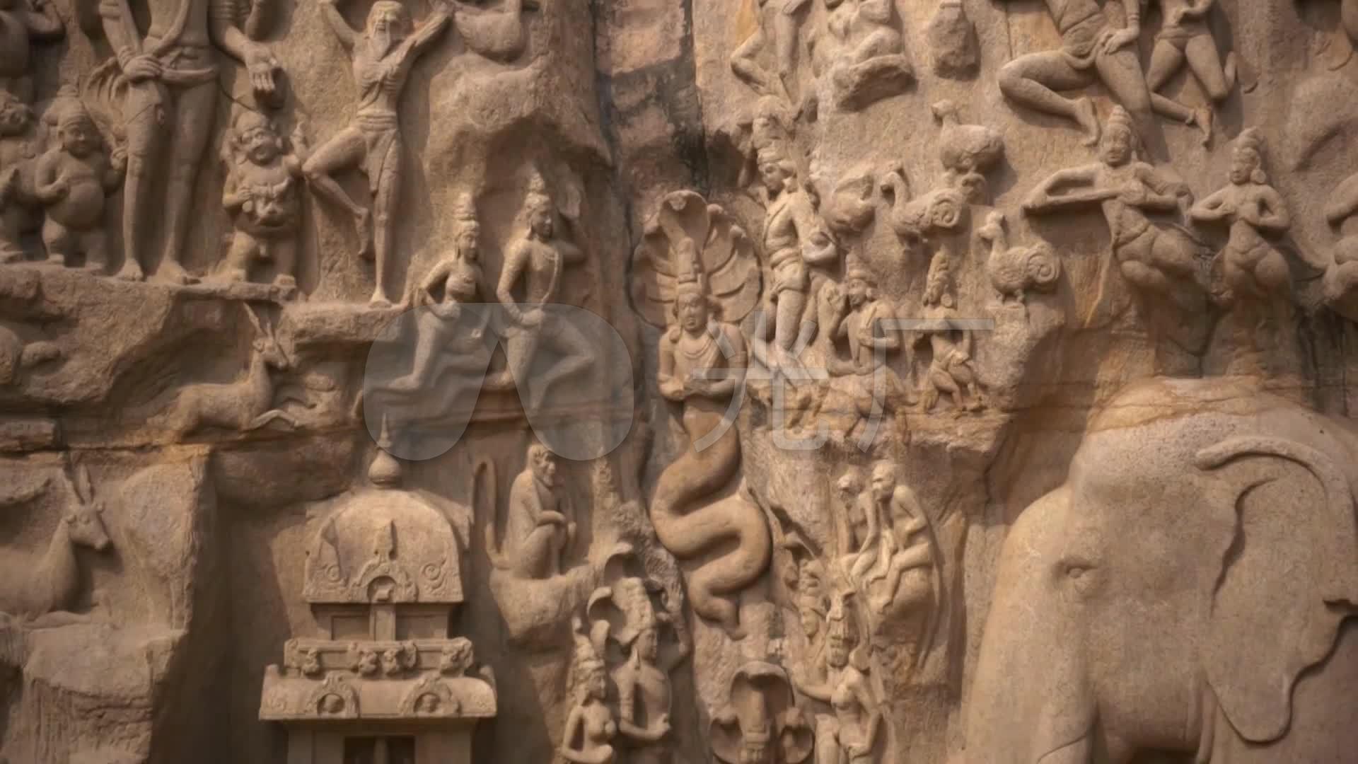 印度巨石雕_僧侣佛像_僧人文化大象石刻_192ui注册v巨石图片