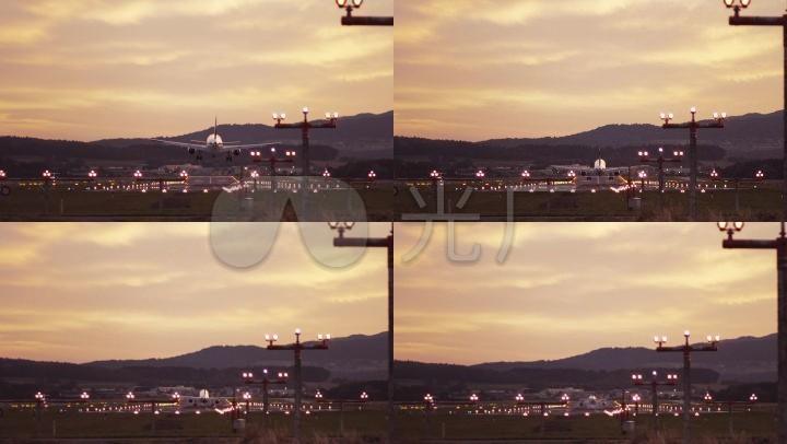 教程降落大型民航降落机场旅途客机_1920X1thlt3客机机刷图片