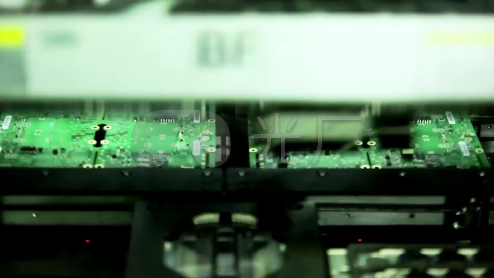 电脑手机电路板芯片研发生产视频_1920x1080_高清视频