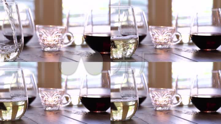 视频桌上倒酒酒杯sobo在线视频精彩图片
