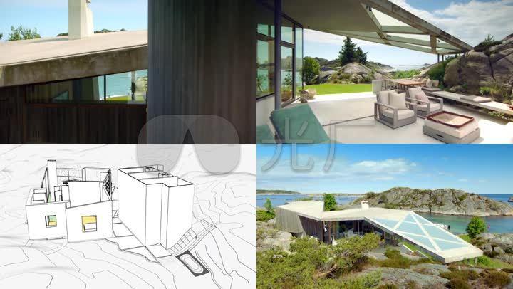 海景房_海边别墅_简欧图片风格建筑设计_192半山房屋瑞士别墅图片