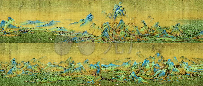 千里江山图