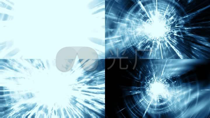 背景光线科技运动循环粒子+cooper建筑六合无绝对片