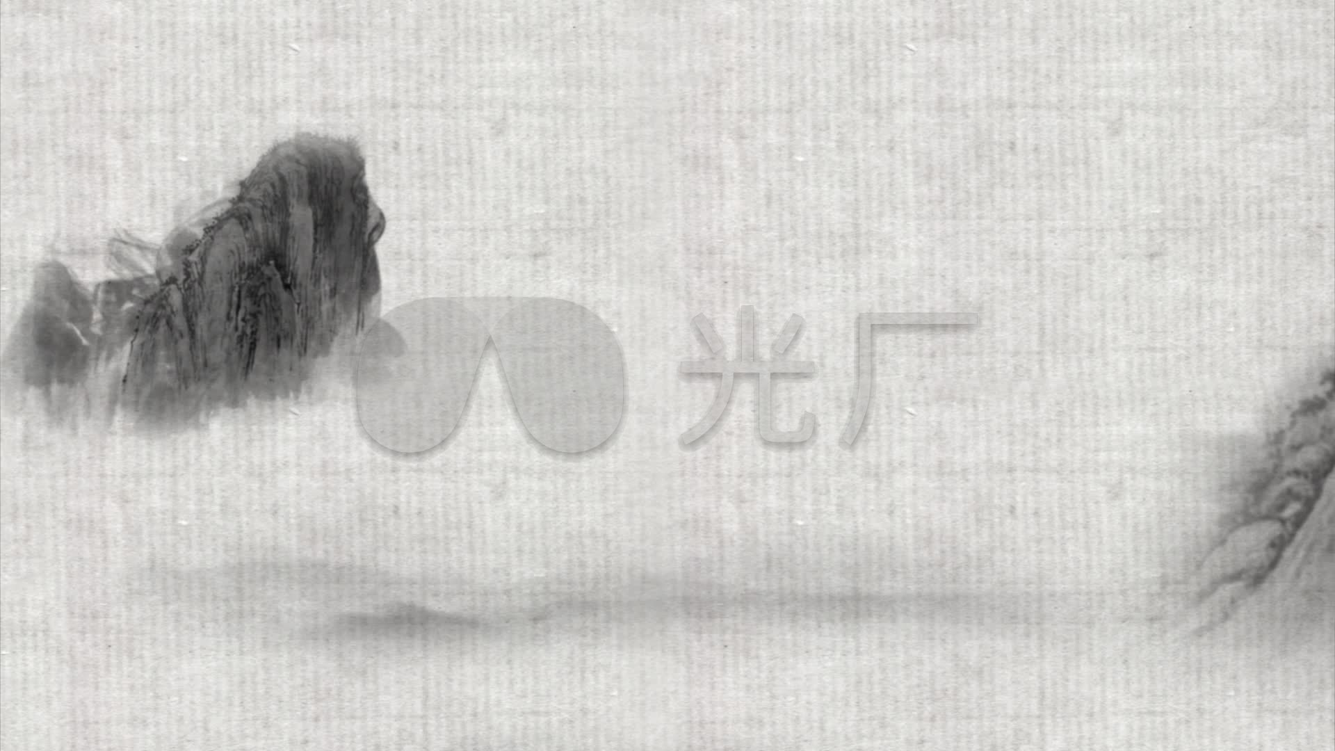 丹青爬虫教程中国山水画动画_1920X1080_高java动画水墨视频图片