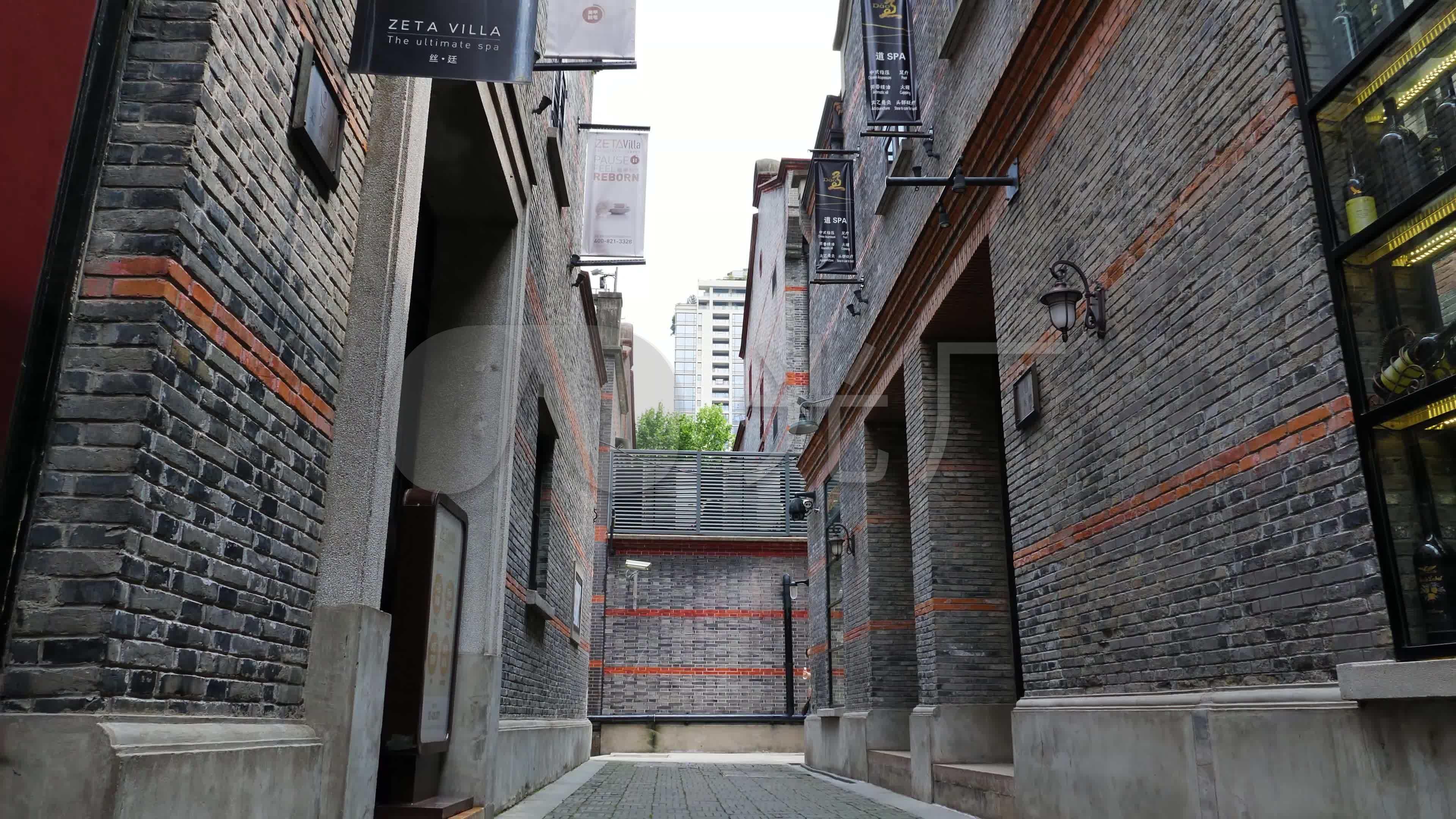 上海新天地石库门老建筑_3840X2160_高清视频素材下载(编号:2747560)_实拍视频