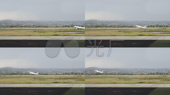 客机起飞大型旅途起飞机场客机民航_1920X1仲由负米详解注音图片