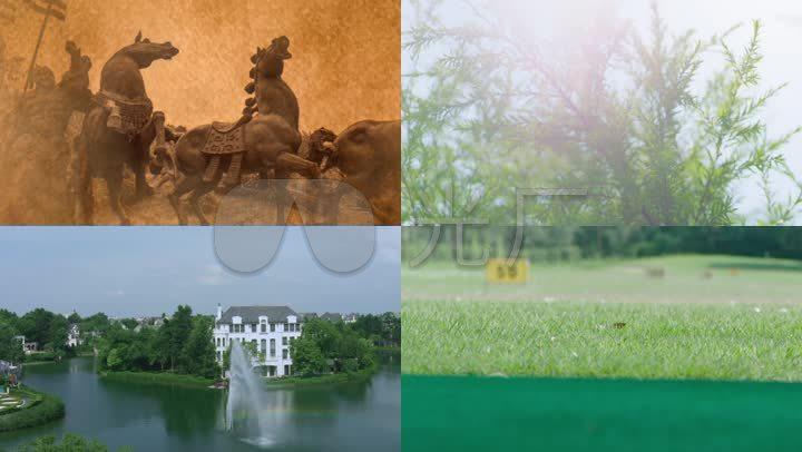 双流牧马山地图高尔夫别墅雍和别墅图片