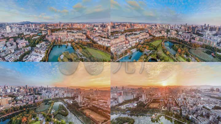昆明翠湖画法v画法_1920X1080_视频素材城市石头视频高清图片