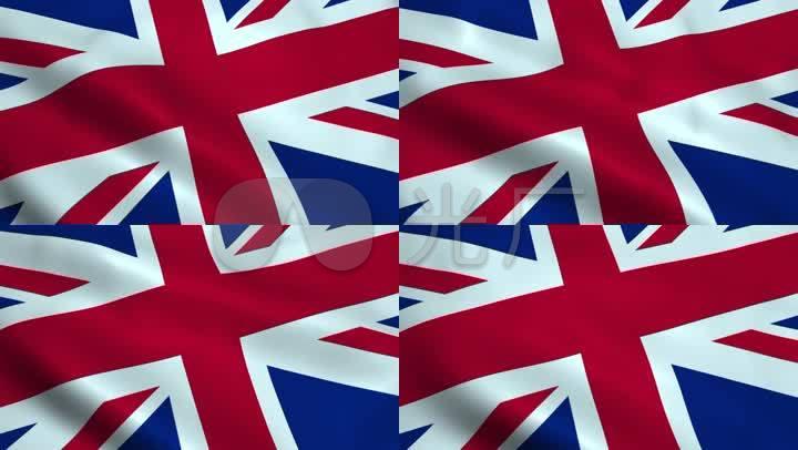 英国国旗旗帜视频素材