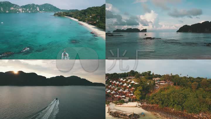 泰国皮皮岛海岸旅游