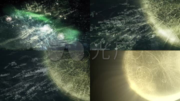 物理数学方程式公式_宇宙万物运行规律构成_1920x1080图片