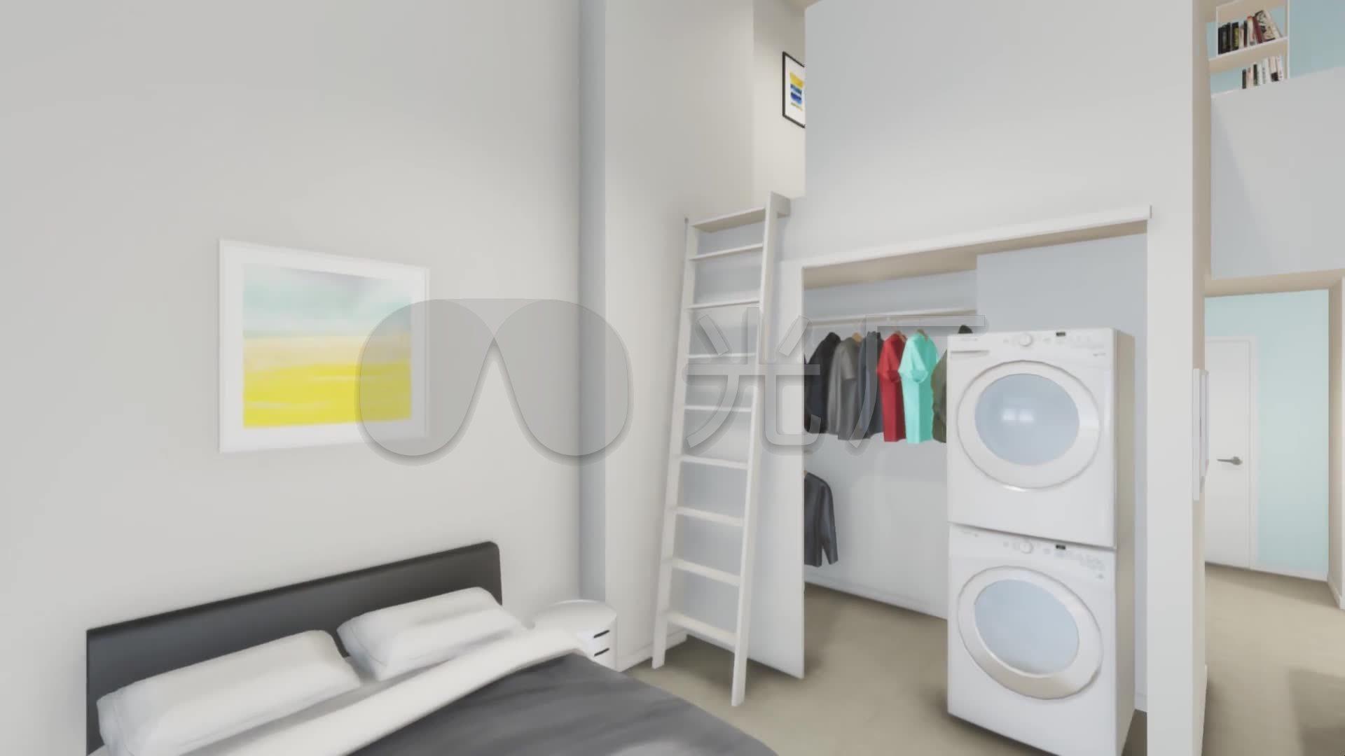 虚拟vr智能家居装修室内设计效果图
