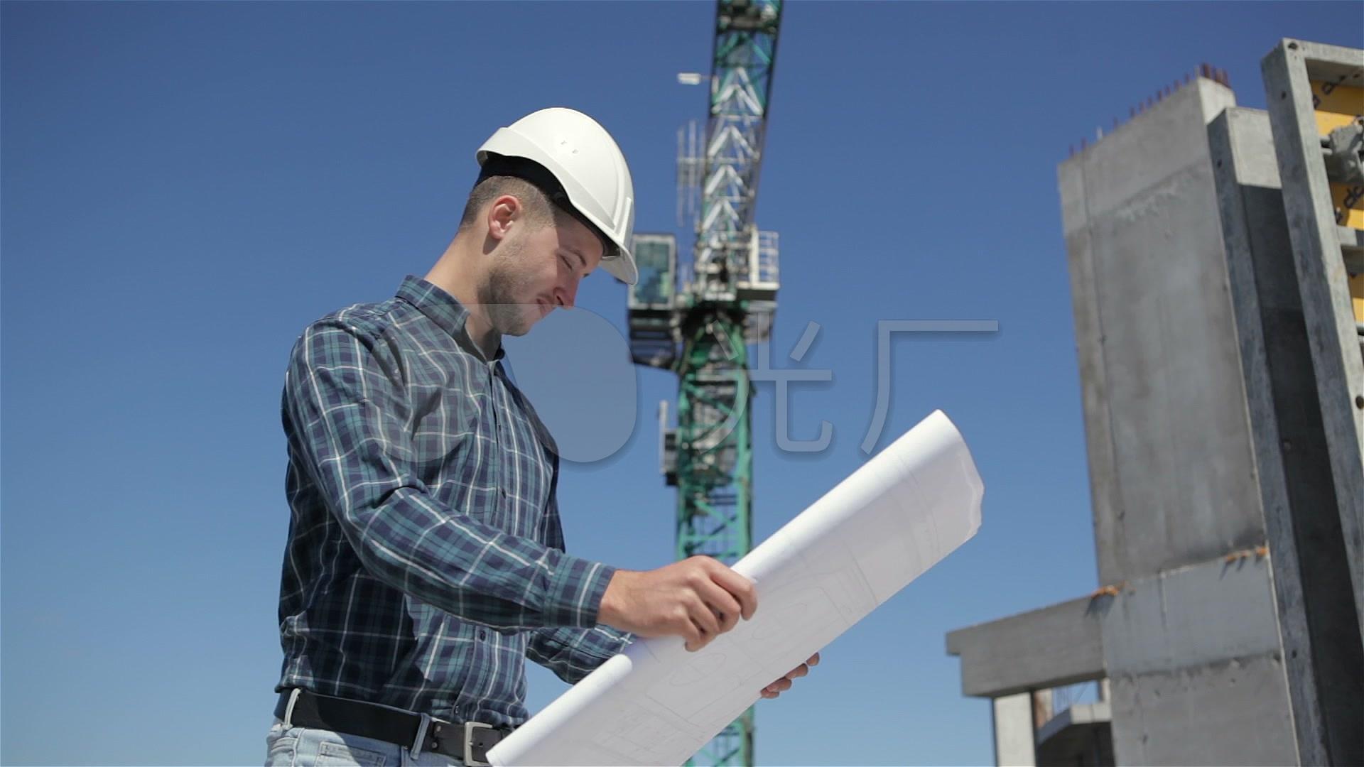 房地产项目开发建筑师看建筑上梁_1920X108图纸标注图纸图片