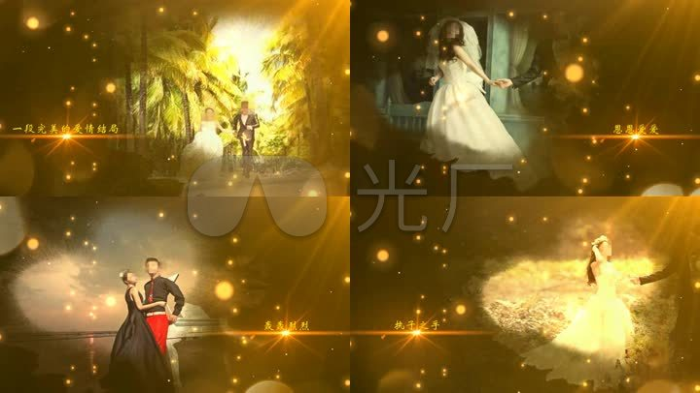 开场EDIUSa婚礼唯美婚礼原创视频视频_EDIUSled片头图片